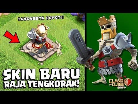 NEW SKIN - RAJA BARBARIAN TENGKORAK!!    Coc Indonesia