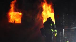 GREEN BROOK NEW JERSEY 2ND ALARM FIRE 2/23/19 SOMERSET COUNTY COMMERCIAL WAREHOUSE FIRE