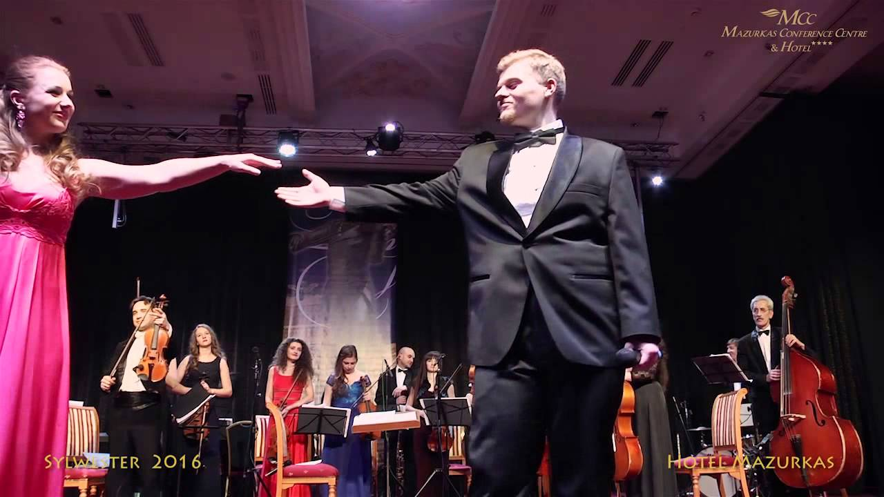 Sylwester 2016 w MCC  Mazurkas-Soliści:Ivana Komarewicz-sopran,Nazar Tatsyshyn-tenor