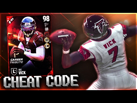 NEW MIKE VICK IS A HUMAN CHEAT CODE! Madden 17 Ultimate Team