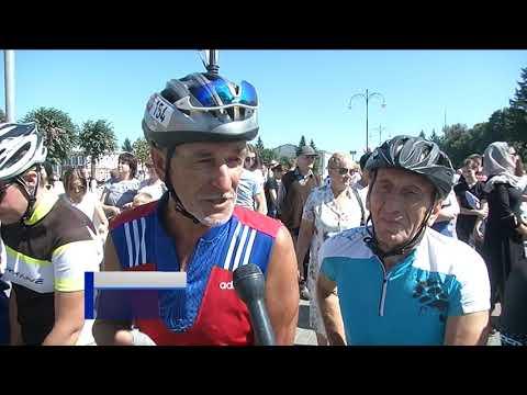 Велогонка в Обояни памяти Евгения Клевцова