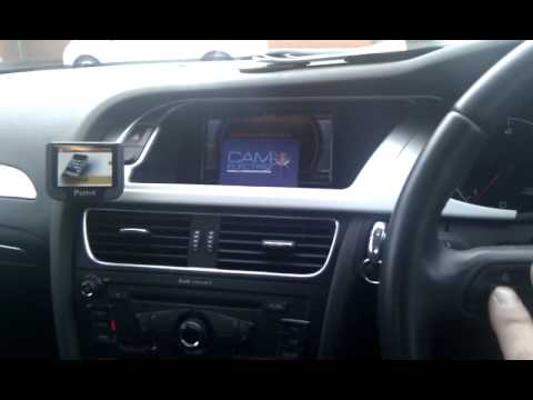 Parrot Unika Steering Wheel Interface Demo Audi A4 Youtube