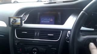 Parrot Unika Steering Wheel Interface Demo Audi A4