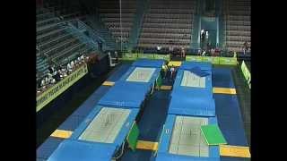 Чемпионат России по прыжкам на батуте 2013 1 день 1 половина