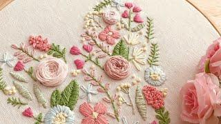 Haul de compras + tip de rosa bordada fácil