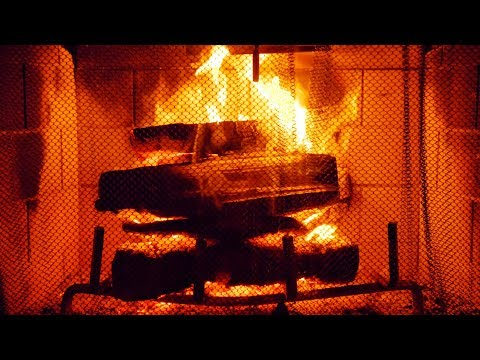 Fireplace Burning Sounds | Relax, Sleep, or Study to Crackling Flames White Noise | 10 Hours