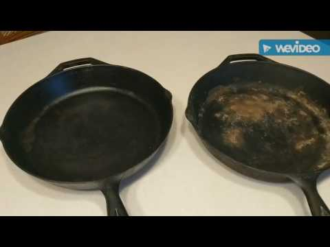 How to Clean Rust Off of Cast Iron