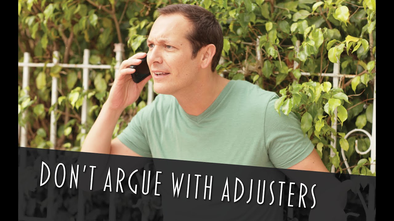 How to Deal with a Home Insurance Adjuster