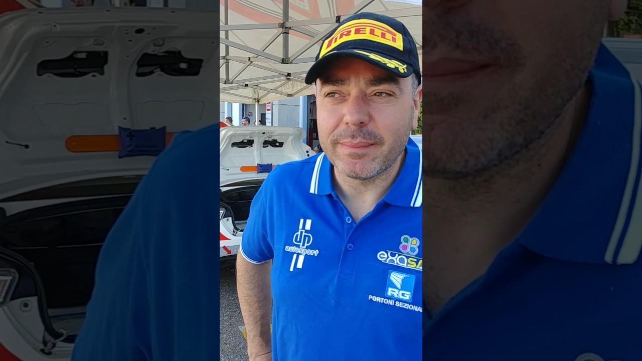 Intervista a Luca Rossetti, rally di Alba 2017