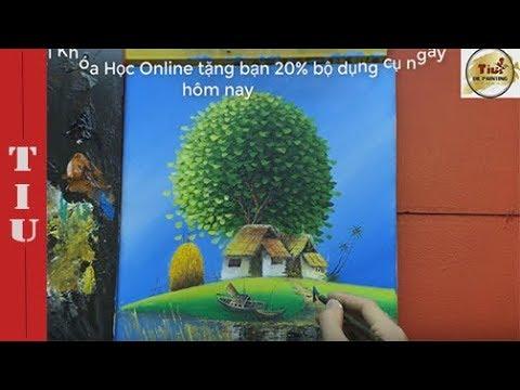Dạy vẽ Thuyền-  Clip Học thử online miễn phí – Bài 8-Chương 2