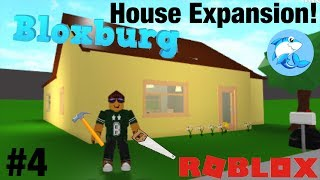 Roblox Bloxburg   House Expansion! #4