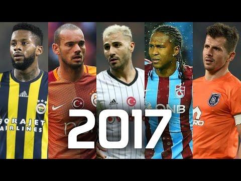 Süper Lig 2017 • Sezonun EN ŞIK Çalımları Ve Golleri • HD