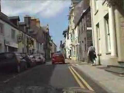 Bridge Street Aberystwyth A487 Road Video
