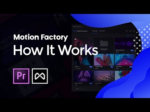 How It Works | FREE Extension for Adobe Premiere Pro | Motion Factory Toolkit