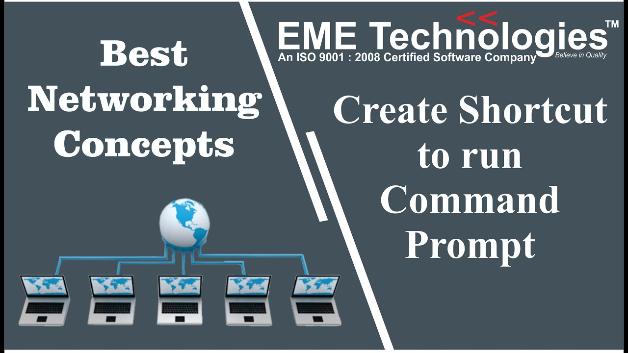 How to Create a Shortcut to Run Command Prompt