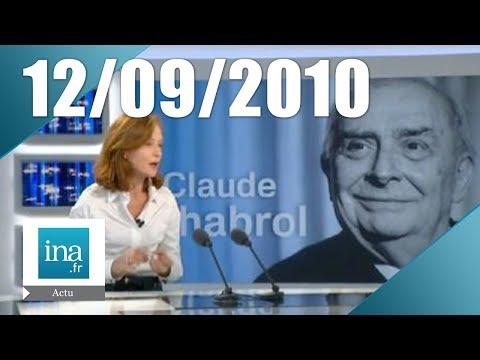 20h France 2 du 12 septembre 2010 - Disparition de Claude Chabrol | Archive INA