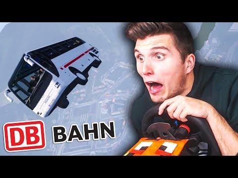 Die Deutsche Bahn KANN FLIEGEN ✪ Fernbus Simulator mit Lenkrad