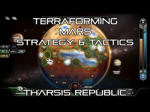 Terraforming Mars: Tharsis Republic