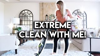 DEEP CLEAN MY HOUSE WITH ME **CLEANING MOTIVATION**