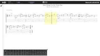 Intro Mong Ước Kỷ Niệm Xưa - Nguyễn Xuân Phương (tab guitar)