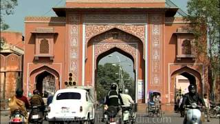 Ajmeri Gate - Popular Arched Gateway To Jaipur's Walled City