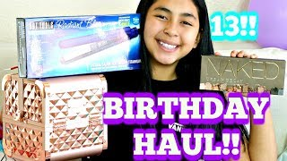 Birthday Haul!!! B2cutecupcakes