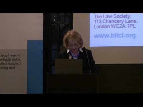 BIICL Annual Grotius Lecture 2016