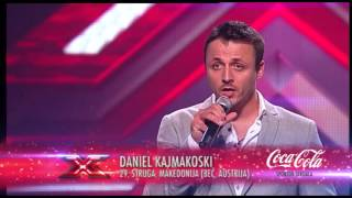 Daniel Kajmakoski (Red - Daniel Merriweather) audicija - X Factor Adria - Sezona 1