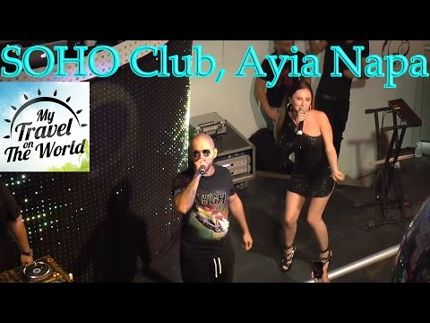SOHO Club, ARTIK feat. ASTI And a hookah, Ayia Napa, Cyprus