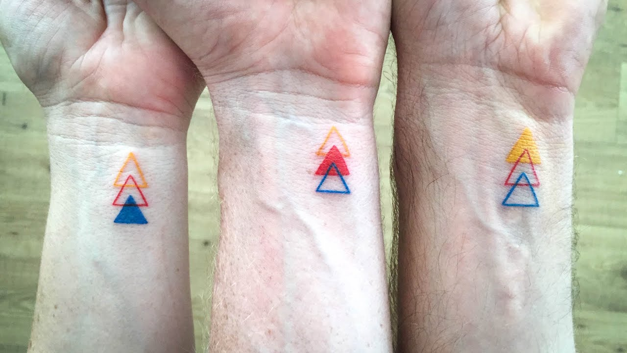 Sibling Tattoos For 3 Brother And Sisters