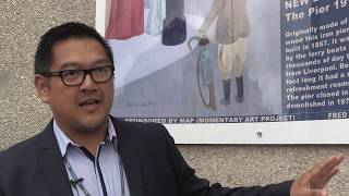 United Utilities is working with a local art group Momentary Art Pr...