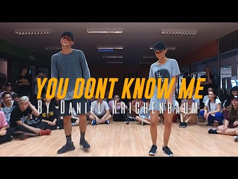 Jax Jones You Dont Know Me ft RAYE Choreography  Daniel Krichenbaum