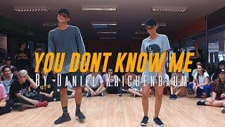 "Jax Jones ""You Don't Know Me"" ft. RAYE Choreography by Daniel Krichenbaum"