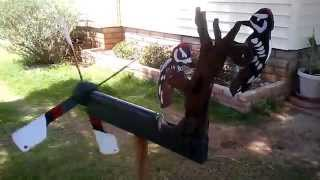 Wood Pecker Whirligig