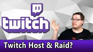 Twitch Host und Rąid - wofür ist das gut?