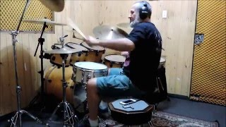 Скачать Rainbow A Light In The Black Drum Cover By Fabio F