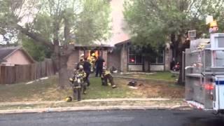 San Antonio House Fire On Bridington