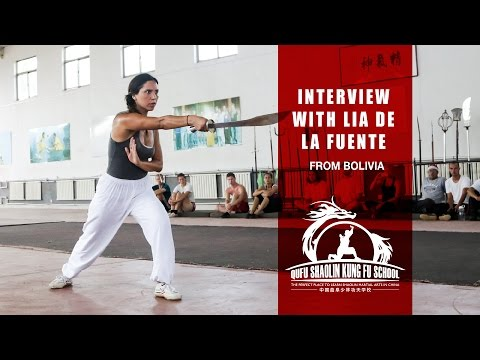 Interview with Lia from Bolivia - Learn Martial Arts in China