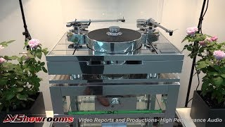 Transrotor turntables and tonearms, SME turntables and tonearms, High End Munich 2018