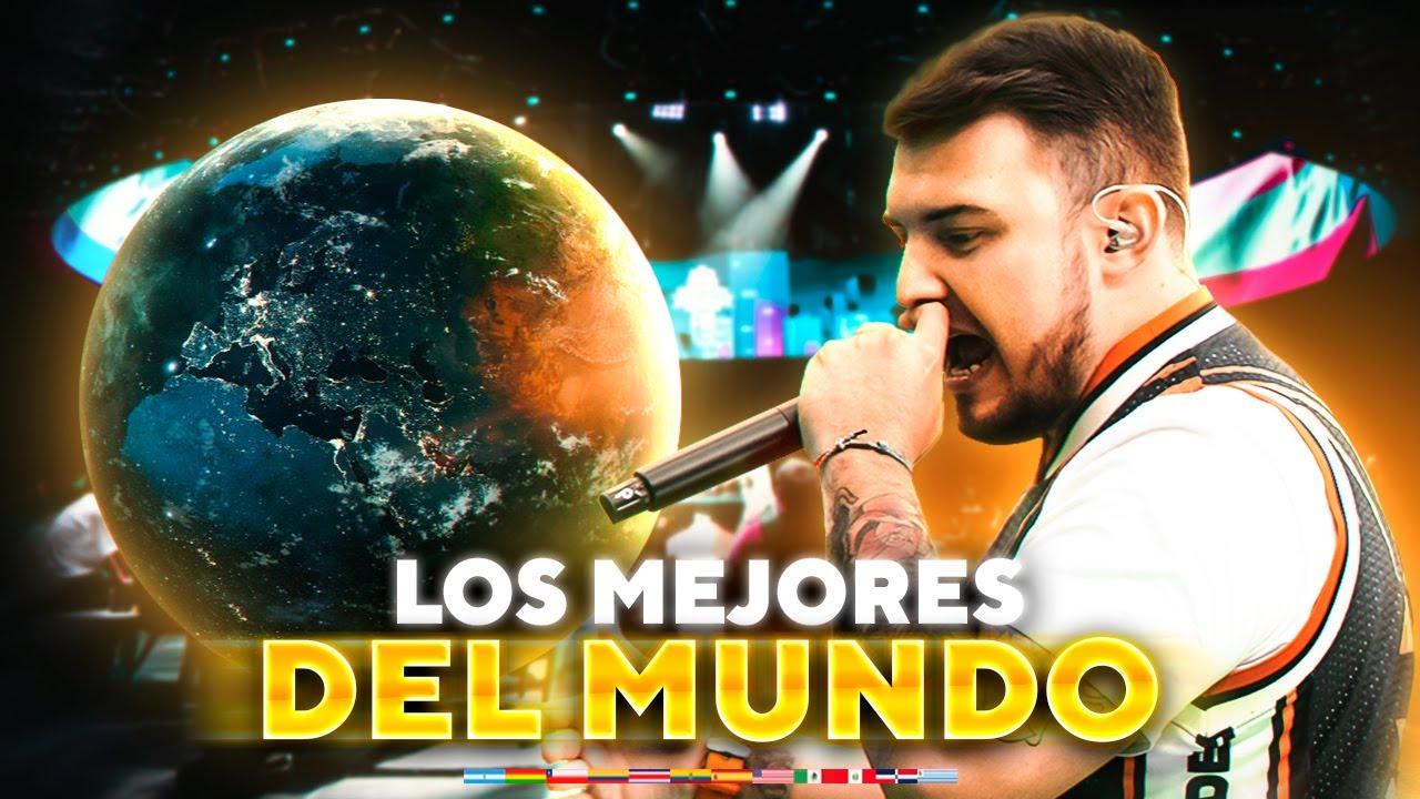 Los Mejores Gallos DE CADA PAÍS (Argentina, Perú, México, España, Chile y más) Batalla de Rap 2020
