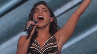 Vanessa Hudgens BUTCHERS Celine Dion Cover at 2017 Billboard Music Awards