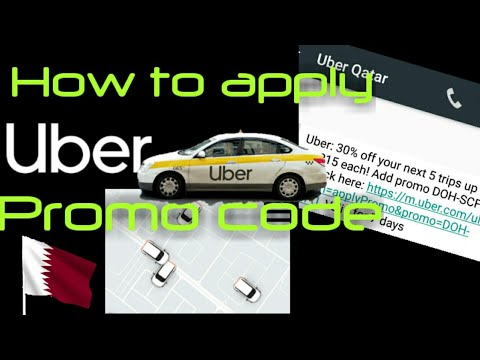 UBER PROMO CODE | How To Apply Uber Promo Code | Uber Taxi