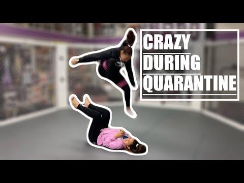 LIVE STREAM: Cris Cyborg goes crazy during Quarantine #AloneTogether CBS Viacom Paramount Bellator