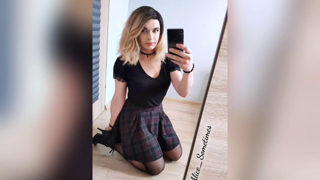 Beautiful Crossdresser Alice Youtube