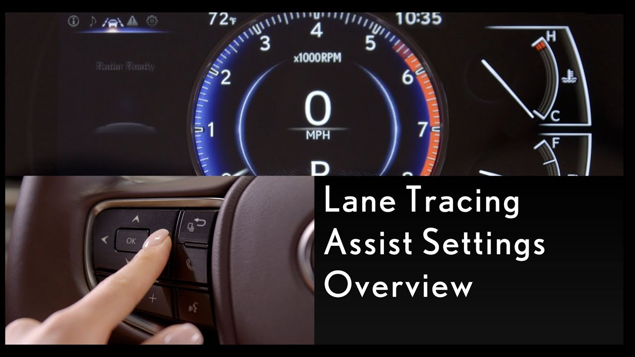 How-To Use Lane Tracing Assist | Lexus