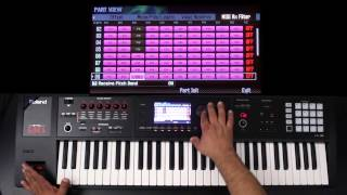Roland FA-06/08 - Advanced Layers and Splits 02 - Part 4