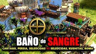 BAÑO de SANGRE con CARTAGO 3 VS 3 !! 0 A.D. EMPIRES ASCENDANT