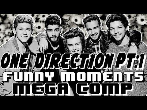 One Direction 1D Funny Moments Crack Humor MEGA COMP Pt:1
