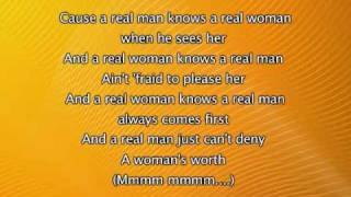 Alicia Keys - A Woman's Worth, Lyrics In Video