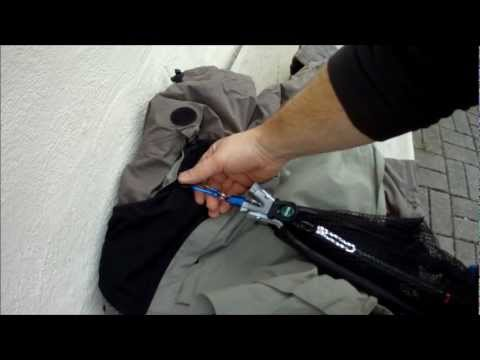 Where To Put Your Landing Net While Fishing